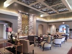 Wonderful Funeral Home Lobby