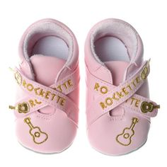 $8.17-$19.99 Baby Silly Souls Rockette Baby Shoes, Pink/Gold, 12-18 Months - The perfect shoes for the little rockette! These fashionable pink shoes with gold star accents are a cool way to dress baby as the rock star they really are. http://www.amazon.com/dp/B001P9F1PY/?tag=pin2baby-20