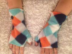 Your place to buy and sell all things handmade Fleece Gloves, Fingerless Gloves, Kids Hands, Exercise For Kids, Hand Warmers, Boutique, Children, Sweet, Etsy