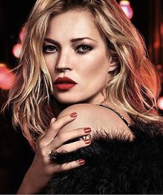 Kate Moss dazzles in new Rimmel Christmas Ad - John Carne