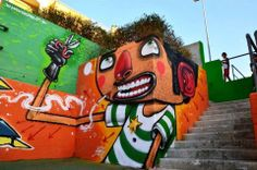 Street art - Hair Cut by Mr. Thoms (Italy)