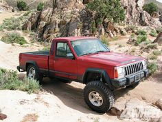 Wow. I Actually found my old truck! I miss this! Jeep Comanche Chief