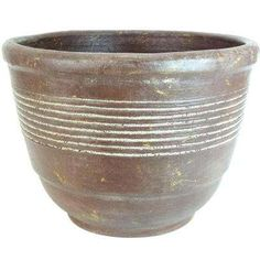 This PR Imports in. Dia Bell Outdoor Planter in Cafe Color offers great versatility for all your garden needs. The natural terracotta construction of this pot stimulates root growth and healthy plants. Outdoor Planters, Planter Pots, Potted Plants, Terracotta, Clay, Shapes, Pot Plants, Clays, Container Plants