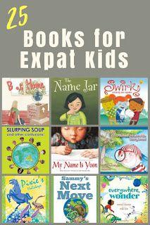 25 books for cross-cultural children of all ages #expat #tcks
