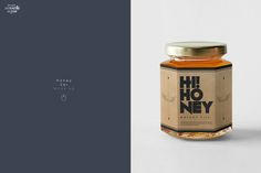 Honey Jar Mockup by dennysmockups on @creativemarket