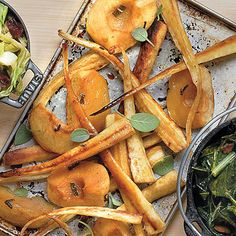 Roasted Apples and Parsnips - Farm-Fresh Recipes from the Hermitage ...