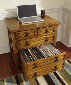 Arts and Crafts Expand Desk in Cottage Oak