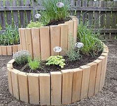 Wood planter... looks like you could diy