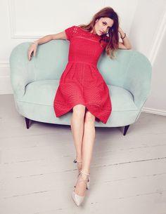 Oxford Lace Dress