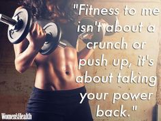 7 Quotes From Jillian Michaels To Help You Power You Through  Read more: http://www.womenshealthmag.co.uk/fitness/fitness-blog/2214/jillian-michaels-quotes#ixzz3M0IrexBk                                                                                                                                                                                 More