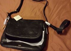Check out NEW with tags FOSSIL Peyton double flap large crossbody bag black leather #Fossil http://www.ebay.com/itm/-/302152860564?roken=cUgayN&soutkn=cUDhiI via @eBay