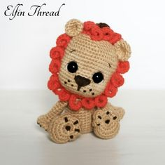 Leander The Chibi Lion Amigurumi Pattern