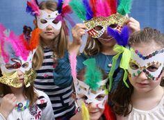 Finest Hand Painted Children's Furniture | Dragons of Walton Street | Kids craft club - Venetian Masks - Photos