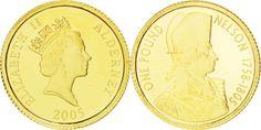 World Coins - ALDERNEY, Pound, 2005, British Royal Mint, KM #119, MS(65-70)…