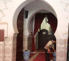 Entrada de Mesquita em Marrakech