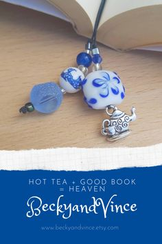 Drinking Book, Gifts For Mom, Great Gifts, Willow Pattern, How To Make Bookmarks, Blue And White China, Bespoke Jewellery, Support Small Business, Christmas Books