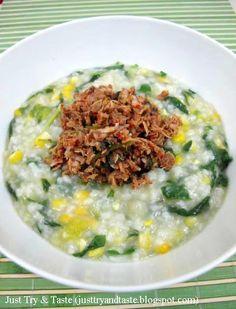 Hari ini ketika saya melongok rice cooker, saya baru tersadar jika nasi di cooker masih setengah penuh dan yang bikin tambah 'puyeng' ad...