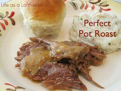 ... | Slow cooker pot roast, Pot roast recipes and Perfect pot roast