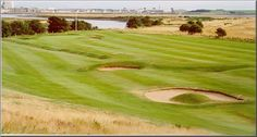 Irvine Golf Club Bogside, Ayrshire, Scotland. Tricky old course with a lot of charm! :-)