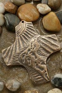 Bronze Gifts, 8th Anniversary, Footprints, Encouragement, Garden, Jewelry, Crosses, Garten, Jewlery