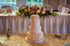 Rosette Wedding Cake edmonton wedding planner: A Modern Proposal
