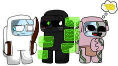 Minecraft Drawings, Skeleton, Nintendo, Logos, Games, Art, Minecraft Funny, Art Background, Minecraft Designs
