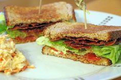 B.L.T : Recette du Club Sandwich Américain au Bacon, Laitue et Tomate