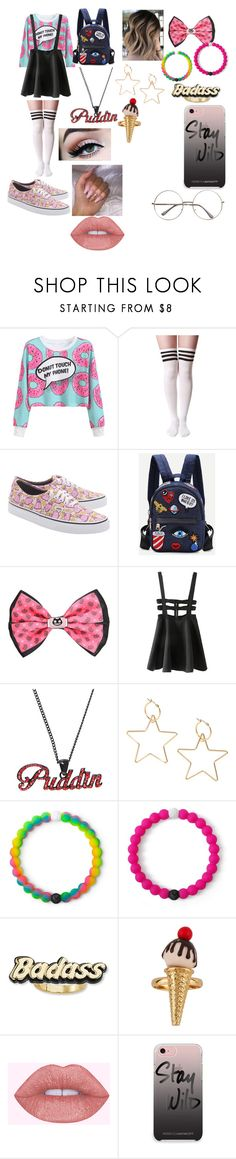 """Baddie with a booty"" by socially-awkward-princess on Polyvore featuring WithChic, Vans, Cartoon Network, Lokai, Steve Madden and Rebecca Minkoff"