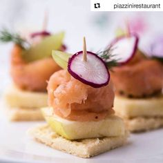 Is it #tooearly for #smokedsalmon ?  Shooting #canape at @piazzinirestaurant  #foodphotography #fingerfood ------------------------------------------------------------------------- #Repost @piazzinirestaurant with @repostapp  Our own #delicious #canape in the making.