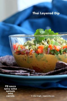 Thai Layered Dip. Vegan Recipe - Vegan Richa