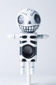 "Voodama Doll - ""Bonehead"" Crayons, Door Handles, Dolls, Ideas, Decor, Door Knobs, Baby Dolls, Decoration, Colouring Pencils"