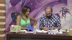 CW Artesanato - Carlos Saad - Mulher.com - Rede Século XXI - Baú com Fer...