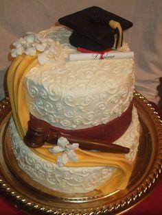 Auctioneer's Grad Cake