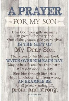 Prayer For My Son, Prayer For My Children, My Children Quotes, Quotes For Kids, Love My Children, Poem For My Son, Message To My Son, Son Quotes From Mom, Mother Son Quotes
