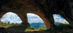 God's Bridge - The bigest natural bridge in Romania and the 2nd bigest in Europe. This natural wonder  is the only one that supports an actual street on top of it.  ~Rametilor Gorge - Near Cluj Napoca