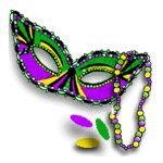 Mardi Gras kicked off Jan. 19 in New Orleans (with a week break for Super Bowl). is official Fat Tuesday. Here are printable paper Mardi Gras masks (scroll halfway down article). Halloween masks to print, too! Maybe start your own krewe! Mardi Gras Beads, Mardi Gras Party, Mardi Gras Activities, New Orleans Louisiana, Tungsten Wedding Bands, Halloween Masks, Making Ideas, Mobile Alabama, Carnival