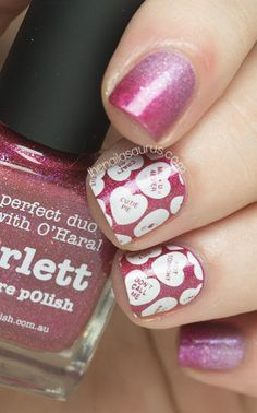 Celebrate the only time of year when these delightful little candies are absolutely everywhere. Don't just eat them — put them on your mani, too! Use Bundle Monster Stamping Plates to get a picture-perfect finish.