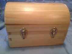 Handcrafted reclaimed wooden maple box by NewportCustomWood