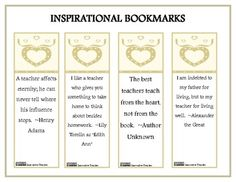 Printable bookmarks, four on the page. Reminds students of proper ...