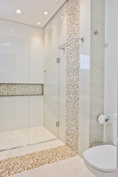 50 Bathroom Interior To Make Your Home Look Outstanding - Home Decoration - Interior Design Ideas Bathroom Remodel Shower, House Bathroom, Bathroom Layout, Bathroom Styling, House Interior, Bathroom Interior, Modern Bathroom, Luxury Bathroom, Bathroom Decor