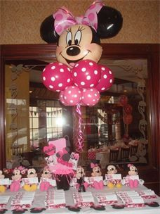 Minnie Mouse Centerpieces Google Haku Pinata Mickey And Minnie