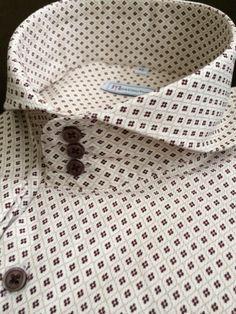 High Collar Shirts, Shirt Collar Styles, Casual Wedding Suit, Textile Pattern Design, Mens Designer Shirts, Herren Style, Collar Designs, Stylish Jackets, Shirt Refashion