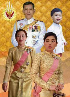 รูปภาพ Thailand Princess, Thai Princess, King Rama 10, Thai Traditional Dress, Great King, King Queen, Asian Art, Model, Gotha