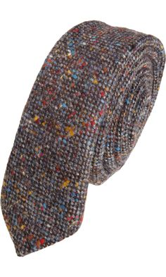 Old man swag. - Barneys New York CO-OP Donegal Tweed Tie