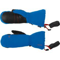 Narvik Dri1 Insulated Mittens 2013: Norrona's wärmste, wasserdichte Handschuhe für Wintersportler. Aussenmaterial: 170 Gramm/m² PrimaLoft Sport (besonders leicht und weich) für maximale Wärmeleistung, ohne sich mit Feuchtigkeit vollzusaugen. Das Stretch flex-Material sorgt für gute Passform und Flexibilität. Sehr praktisch sind die Bänder für die Befestigung am Handgelenk, so verliert man die exklusiven Teile auch nicht, wenn man im Sessellift einmal unachtsam ist.