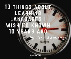I started learning languages as a serious hobby just over ten years ago. It started out as a slow and frustrating process, and I never truly believed that I would ever really be able to speak and u…