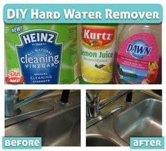 DIY Hard Water Remover - PinTriedIt
