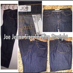 Joe Jeans Slim Straight Jeans Ankle Joe Jeans Slim Straight Ankle size 16 Joe's Jeans Jeans Ankle & Cropped