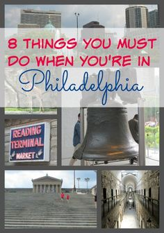 8 Things You Must Do When You're in Philadelphia #VisitPhilly
