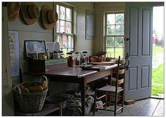Garden Shed -- Hancock Shaker Village (Massachusetts)